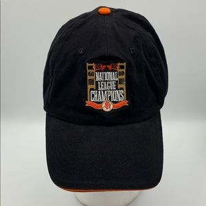 MLB SF Giants 2002 national league champions hat